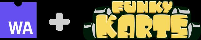 Funky Karts logo
